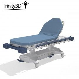 3D Medical Stretcher