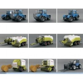 DOSCH 3D: Agriculture Vehicles