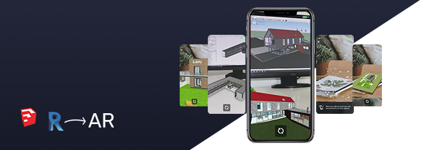 Kubity PRO ready for SketchUp and Revit models