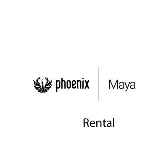 Phoenix FD for Maya Rental