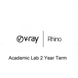 V-Ray Rhino Academic Lab 2 Year Term