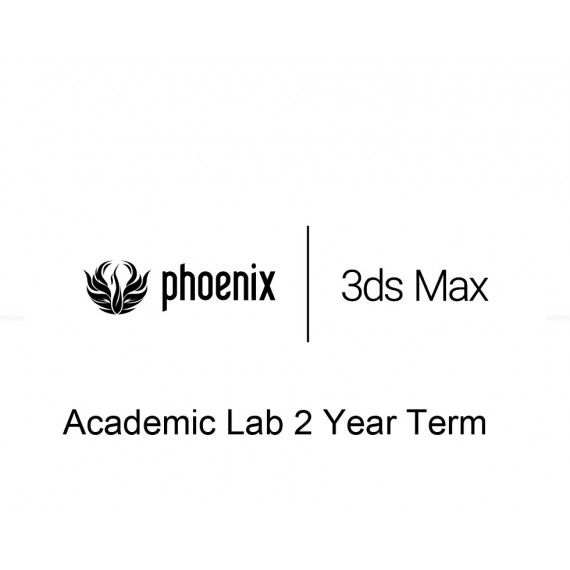 Phoenix FD 4 for 3ds Max Academic Lab 2 Year Term