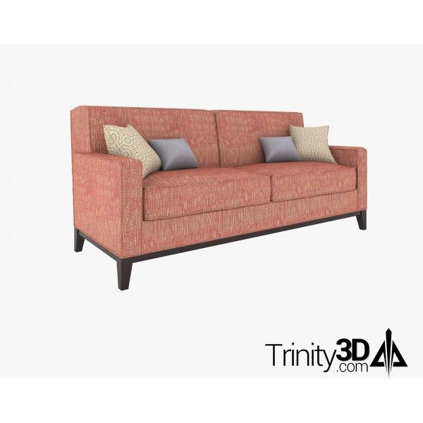 Trinity3D Clubroom Couch