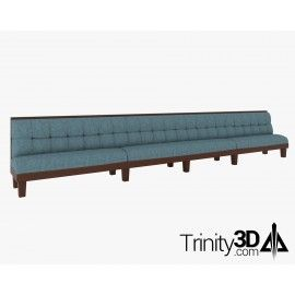 Trinity3D Dining Booth