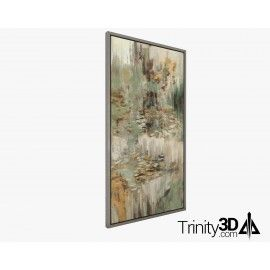 Trinity3D Vertical Abstract Art