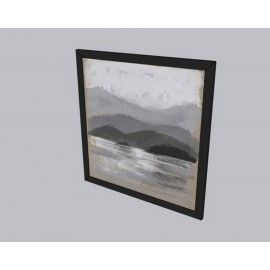 Mountain Art Framed