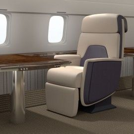 Trinity3D Private Airline Chair
