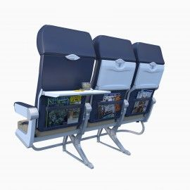 Trinity3D Southwest Airline Chairs
