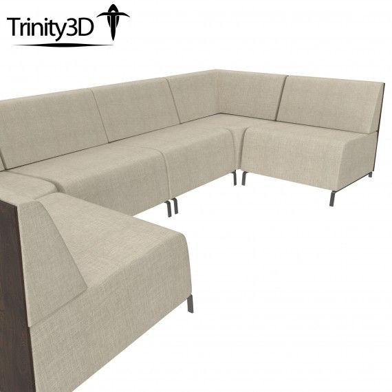 Trinity3D Intrigue Sectional Sofa