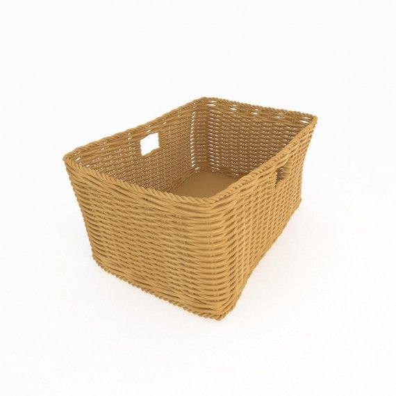 Trinity3D Wicker Basket