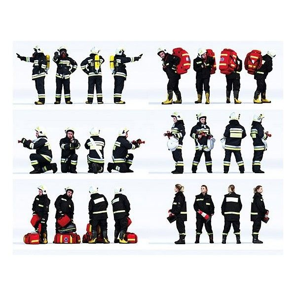 DOSCH 3D: People - Firefighters Vol. 1
