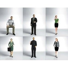 DOSCH 3D: 3D-People - Business