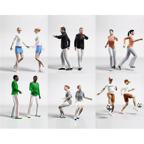 DOSCH 3D: 3D-People - Casual