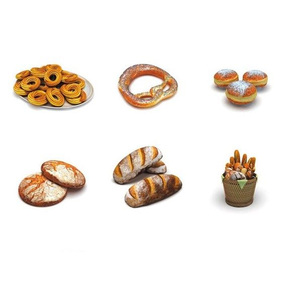 DOSCH 3D: Bakery Products