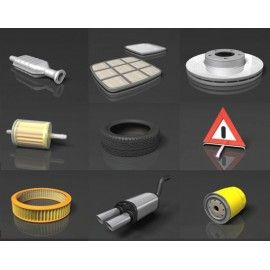 DOSCH 3D: Car Parts