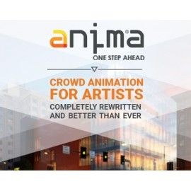 Anima 3.5 - The Crowd Simulation Software
