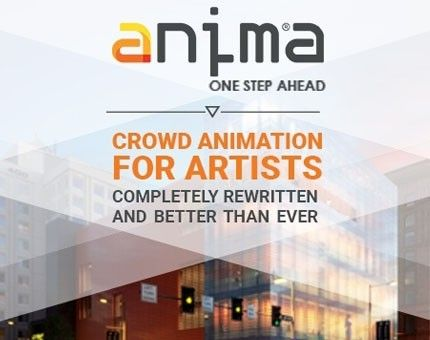 Anima - The Crowd Simulation Software by AXYZ, Buy now from Trinity3D
