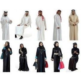 Ready-Posed 3D Arabian Models MeMsS023HD2