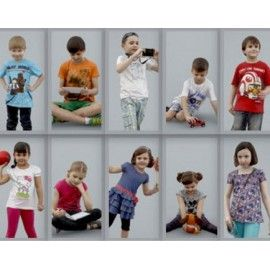Ready-Posed 3D Children Models MeMsS009HD2