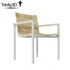 Trinity3D Skiff Outdoor Stacking Chair