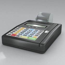 Trinity3D Credit Card Machine