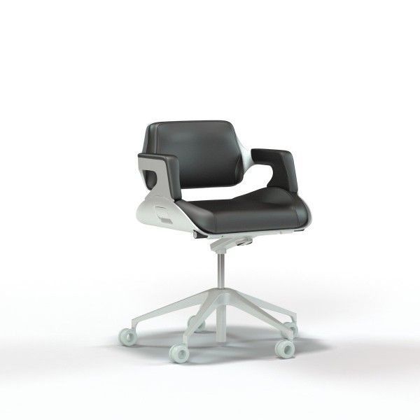Trinity3D Interstuhl Silver Low Back Office Chair