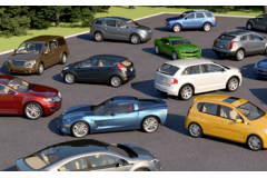 Trinity3D Collections - Car Pack 1 for V-Ray + SketchUp